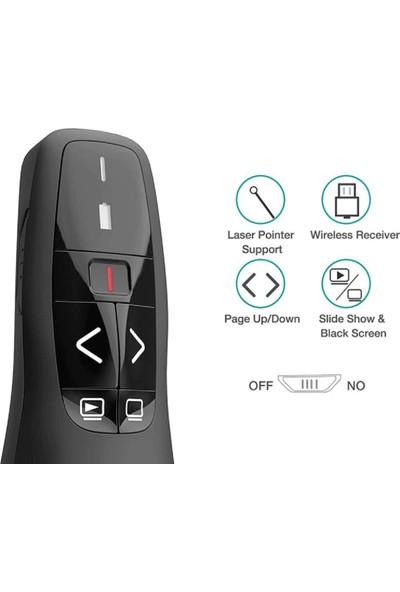 Grandi R400 2.4ghz USB Kablosuz Power Point Uzaktan Kumanda Cihazı