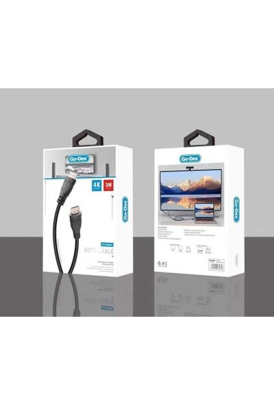 Go-Des GD-HM803 HDMI 4K Destekli HDMI - 3 M