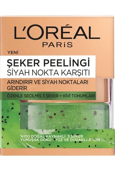 L'Oréal Paris Şeker Peelingi Siyah Nokta Karşıtı