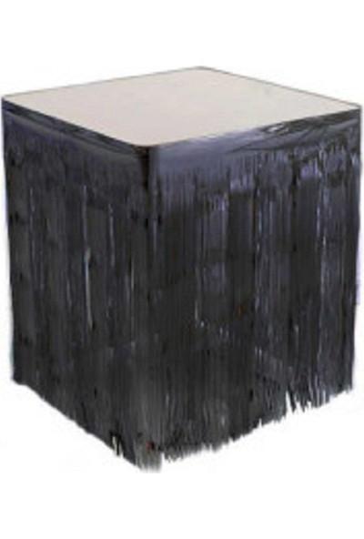 Acar Süs Metazlie Siyah Renk Masa Kenarı Eteği