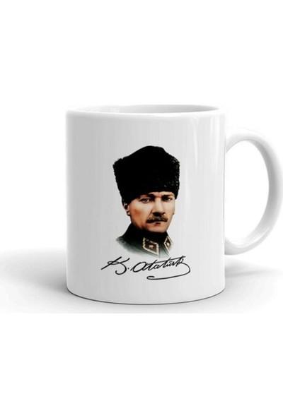 Öztürk Grup Mustafa Kemal Atatürk Baskılı Kupa Bardak