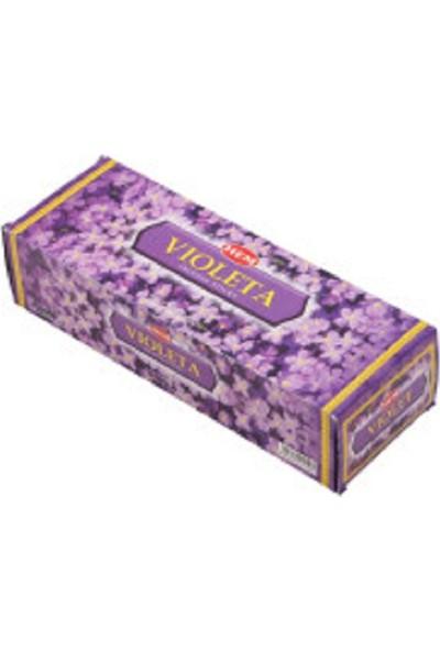 Acar Süs Hem Violetta Çubuk Tütsü