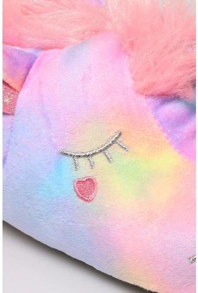 Twigy TT0861 Golden Horse Pembe Kışlık Çocuk Panduf