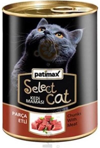 Patimax Patimaxparça Etli Kedi Maması 400 gr x 4 Adet