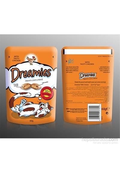Dreamies Tavuklu Kedi Ödül Maması 60 gr x 6 Adet