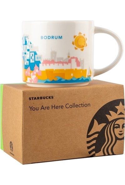 Starbucks® Şehir Temalı Kupa Serisi - Bodrum 414 ml