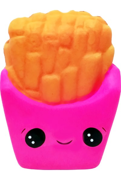 Playseba Jumbo Patates Kızartması Squishy 14 cm - Kokulu Sukuşi
