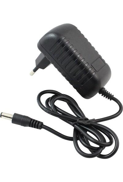 Powermaster PM-4531 12V - 2A Priz Tipi Adaptör 5.5*2.5 Uç Arduino Uyumlu Jack