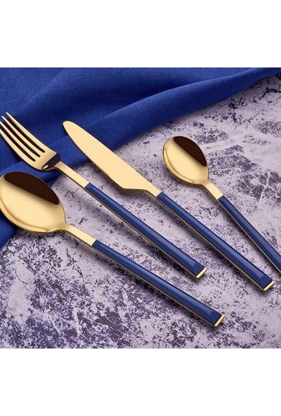 Neva Yakamoz 24 Parça Çatal Kaşık Bıçak Seti N2728