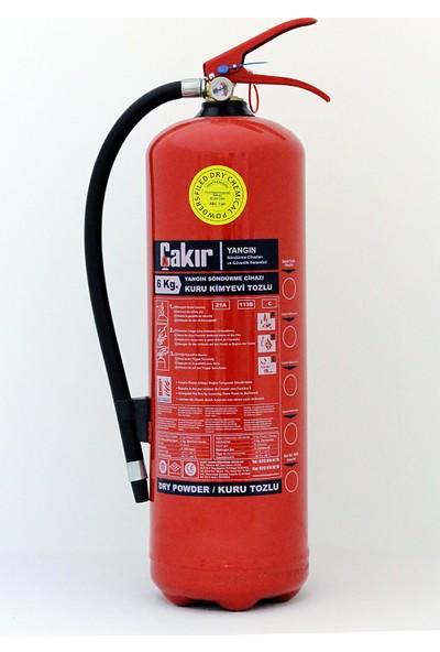 Çakır 6 kg Kkt Abc Yangın Söndürme Cihazı