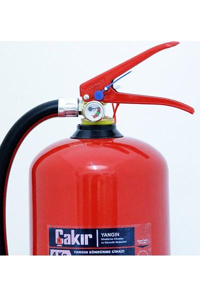 Çakır 4 kg Yangın Tüpü Kkt Abc