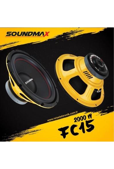 Soundmax SX-FC15 2000WATT 600RMS 38CM Subwoofer