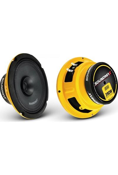 Soundmax Sx-Eg8 390 Watt 140RMS 20CM Midrange 2 Adet