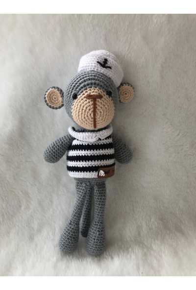 Bebo Store Amigurumi Myco Monkey Örgü Bebeği