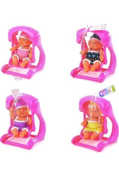 Efe Oyuncak Efe Toys Filede Salıncaklı Oyuncak Et Bebek 3+ Yaş