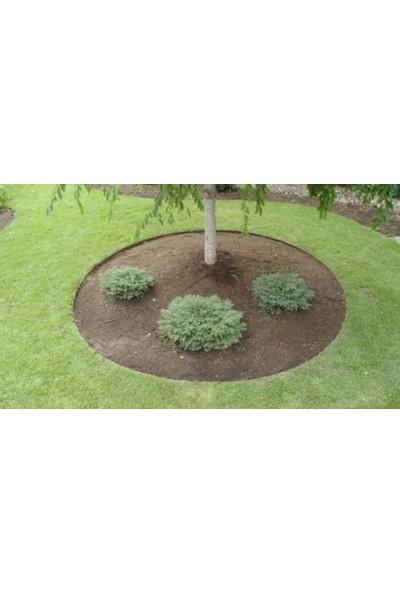 Mgf Plast Plastik Çim Sınırlayıcı-Çim Ayırıcı Esnek 25 M Yeşil + Sabitleme Kazıkları