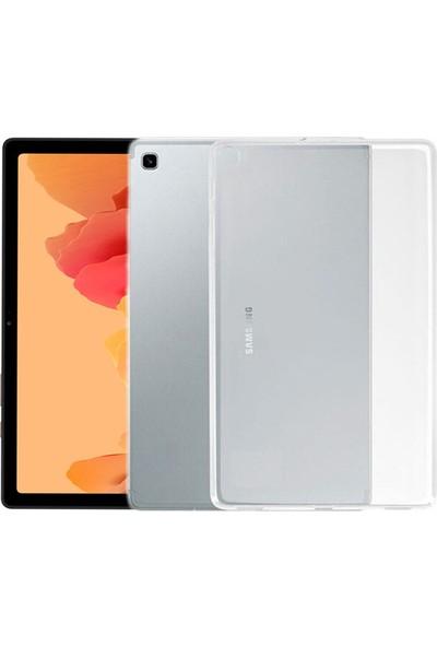 Esepetim Samsung Galaxy Tab A7 SM-T500 Silikon Şeffaf Tablet Kılıfı (10.4 Inç)