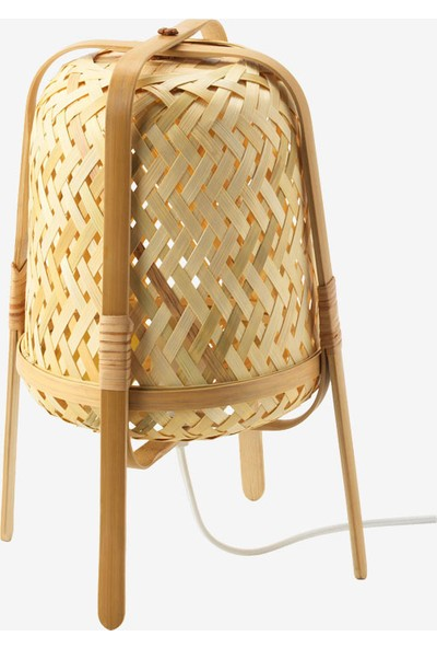 Did Homeware Bambu Dekoratif Masa Lambası Abajur