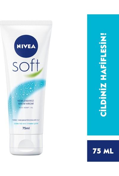 Nivea Soft Nemlendirici Bakım Kremi 75Ml