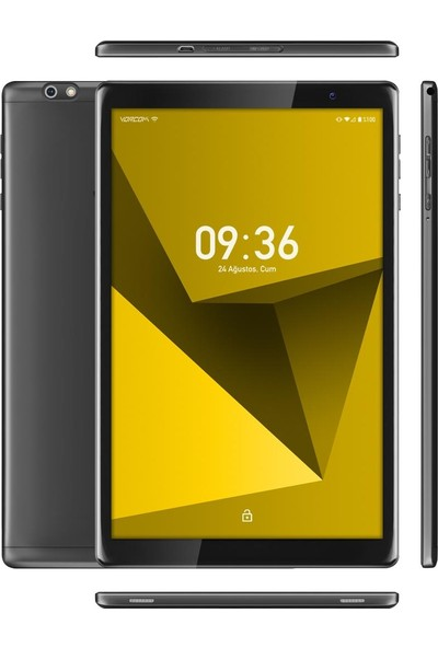 "Vorcom SX Pro 64GB 10"" IPS Tablet Siyah"