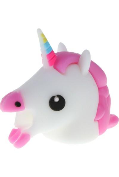 Bilişim Aksesuar Sevimli Silikon Kablo Koruyucu Unicorn