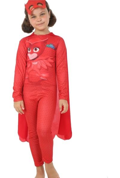 Pijamaskeli Baykuş Kız Amaya Kostümü