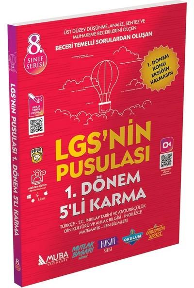 Muba Yayınları 8. Sınıf LGS'nin Pusulası 1. Dönem 5'li Karma Deneme