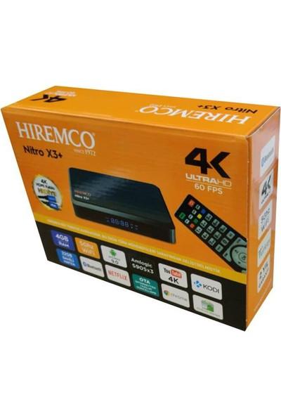 Hiremco 4K Ultrahd Nitro X3+ Android Tv Box