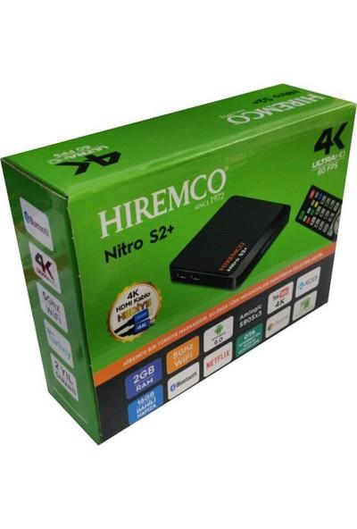 Hiremco 4K Ultrahd Nitro S2+ Android Tv Box