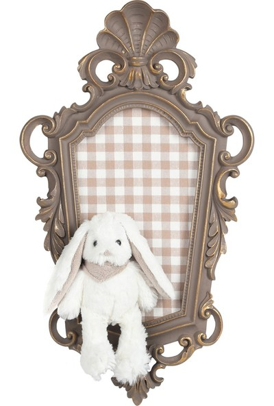 Dona De Miel Andora Rabbit Dekoratif Tablo