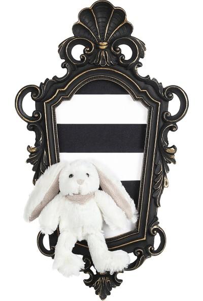 Dona De Miel Beal Rabbit Dekoratif Tablo