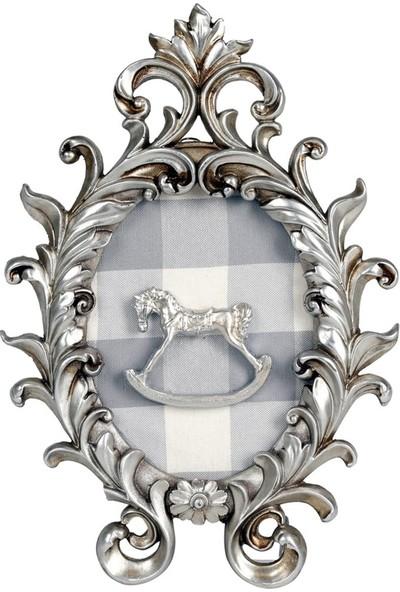 Dona De Miel Parle Horse Dekoratif Tablo