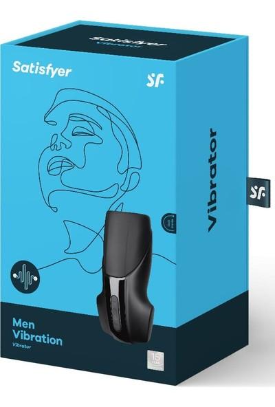 Satisfyer Men Vibration 14 Fonksiyonlu Titreşimli Süper Mastürbatör
