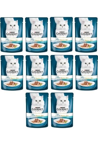 Gourmet Purina Gourmet Perle 10 Adet Izgara Ton Balıklı Konserve 85 gr