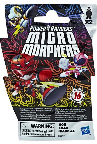 Power Rangers Micro Morphers Sürpriz Paket E5917