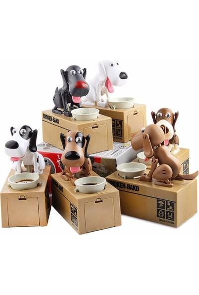 Hediye Dünyası Dijital Pazarlama Köpek Kumbara Para Yiyen Köpek Kumbara Pilli Hırsız Kumbara