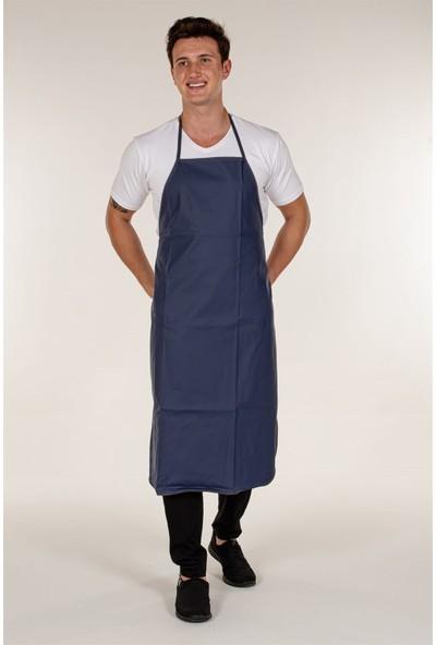 Mert Giyim Lacivert Muşamba Mutfak Bulaşık Önlüğü PVC