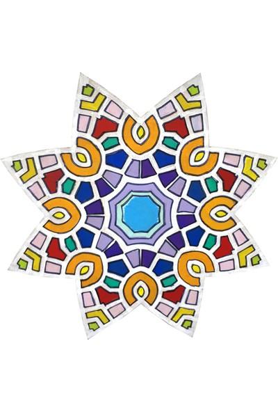 Livart 3800 Hobi Dekoratif Ahşap Mandala Boyama