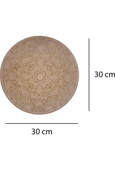 Livart 3804 Hobi Dekoratif Ahşap Mandala Boyama