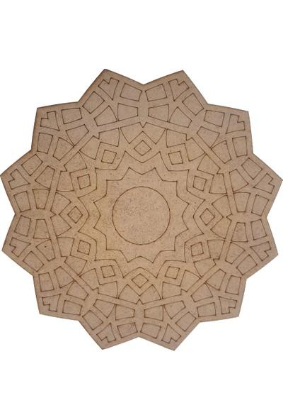 Livart 3802 Hobi Dekoratif Ahşap Mandala Boyama