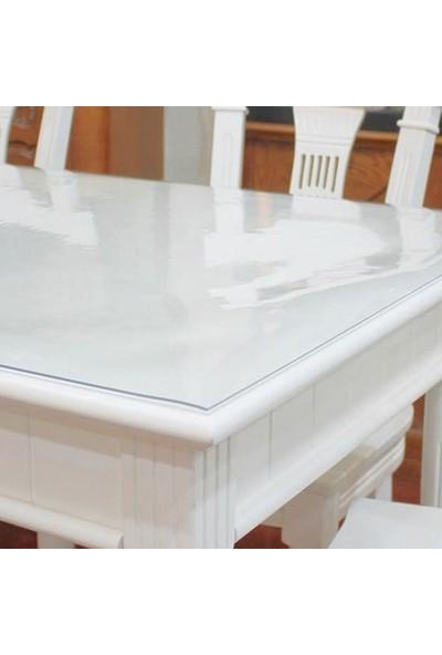 Dia Şeffaf Pvc Kalın Masa Örtüsü 3,6 mm 80 x 120 cm