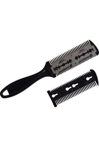 Dorco Çift Jiletli Saç Tarağı Saç Usturası