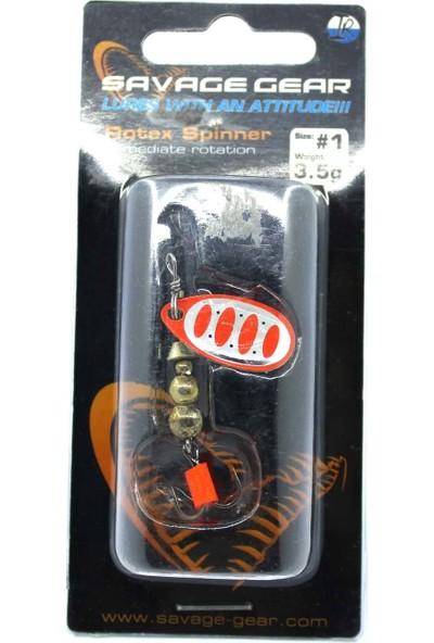 DUEL Savage Gear Rotex Spınner Sıze: 1 3.5gr #04