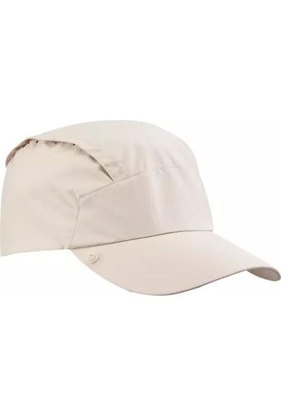 Oquceha Erkek Trekkıng Şapkası Bej Uv Korumalı Çıkarılabilen Ense Koruması Meridyendukkan