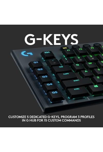 Logitech G G815 Tactile Mekanik Oyuncu Klavyesi - Lightsync Rgb Türkçe- Siyah 920-008993