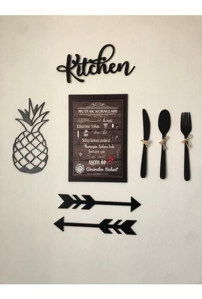 Onca Mutfak Kuralları Mutfak Dekorasyon Objeleri Ananas Kitchen Ok