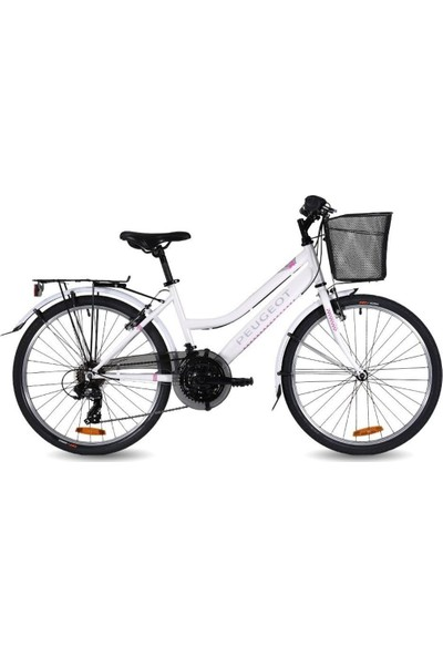 Peugeot C 14 26 Bayan Şehir Tur Bisikleti V 26 Jant 7 Vites