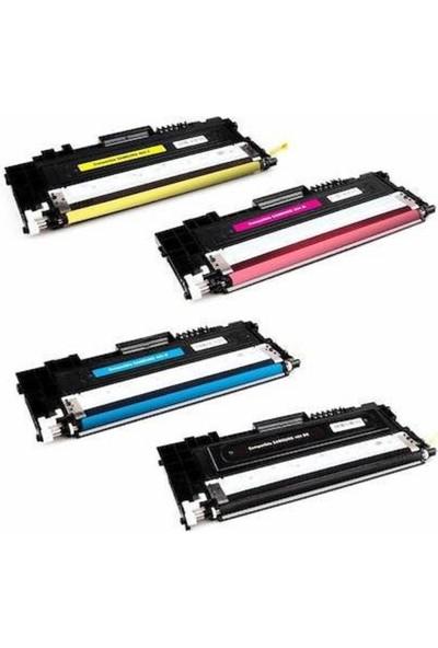Photo Print Samsung CLX-3305/3305W/3305FW/3305FN CLT-406 Serisi 4 Renk Muadil Toner Takım