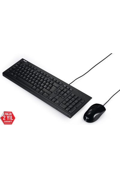 Asus U2000 Multımedya Özellikli,kablolu Klavye ve Mouse Set,f Klavye