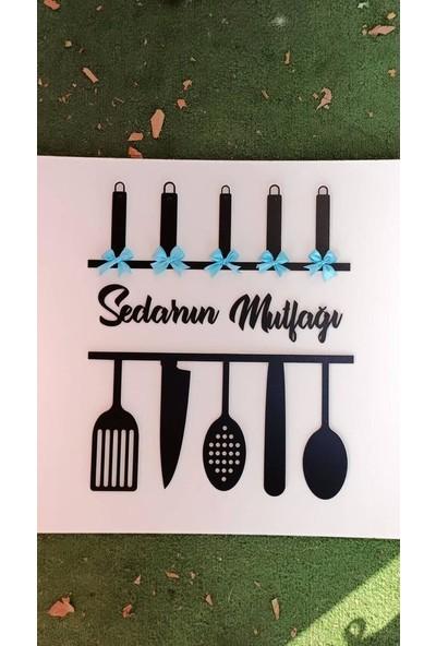 Hobi Market Mutfak Süsü Mavi Fiyonklu Model